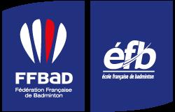 Logo FFBad EFB - Sans étoile