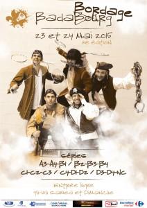 Affiche Badabourg 2015