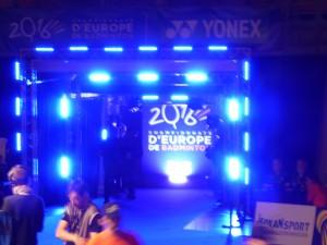Championnat d'Europe de Badminton - Challans 2016 - 01