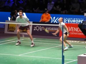 Championnat d'Europe de Badminton - Challans 2016 - 12