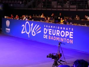 Championnat d'Europe de Badminton - Challans 2016 - 02