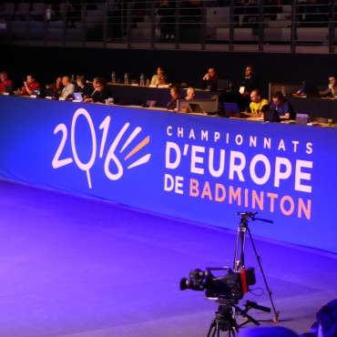 Championnat d'Europe de Badminton – Saison 2016